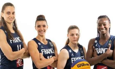 Jeux Olympiques 3×3 : Les Bleues qualifiées en demi finale