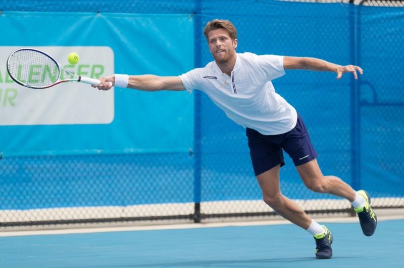 Hugo Grenier s'incline à l'US Open