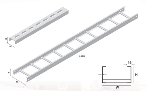 ladder type cable trays cable trays