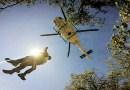 Rubbiano esercitazioni Soccorso Alpino con Eagle Forestale