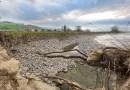 Osteriazza di Fornovo tra erosione del fiume e lavori incompleti lungo la ferrovia