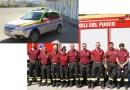 Incidente in località San Pietro di Borgotaro. Duro lavoro per  i soccorritori. Per fortuna nulla di grave.