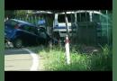 Collecchio, strada Mulattiera.  28enne vola nel fosso con la sua auto.
