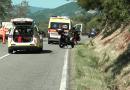 Valceno un incidente nei pressi di Viazzano. Coinvolti 2 parmigiani.