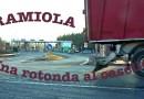 A15 una rotonda all'uscita del casello di Ramiola