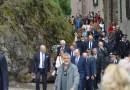 OGGI. La visita del Principe Alberto nel Parmense a Bardi. Video,  immagini e notizie.
