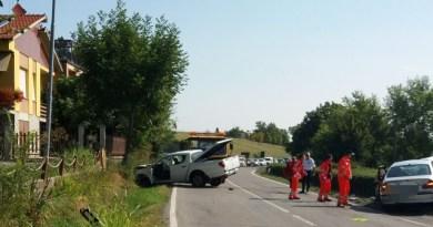 Due feriti questa mattina sulla SP357
