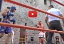 Boxe al Castello di Varano Melegari una parata di stelle locali Kid Saracca
