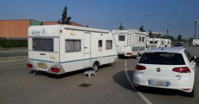 Sgomberato un campo nomadi abusivo a Felino