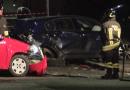 Violento scontro  tra due autoveicoli a Fornovo in via Solferino. Le immagini