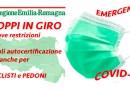 TROPPI IN GIRO La seconda restrizione in 24 ore del presidente Regione Emilia Romagna