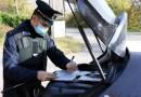 Val Ceno. Corriere senza mascherina sanzionato dai Carabinieri