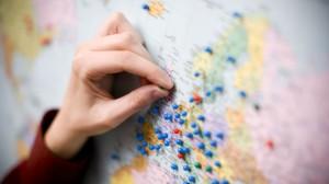 Map pinning