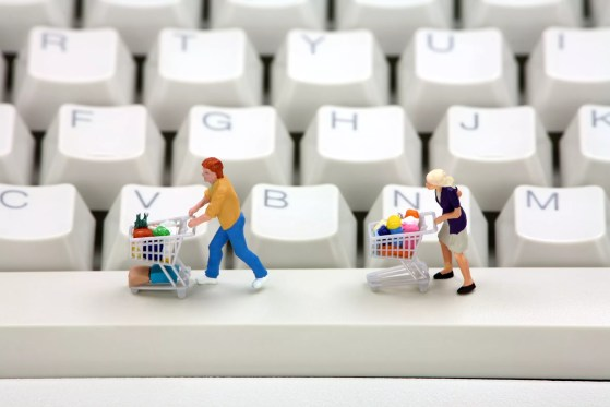 Online shopping concept 2
