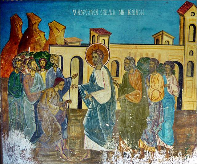 Αποτέλεσμα εικόνας για (Κυριακή ΙΔ΄ Λουκᾶ). Λκ. 18, 35 – 43.