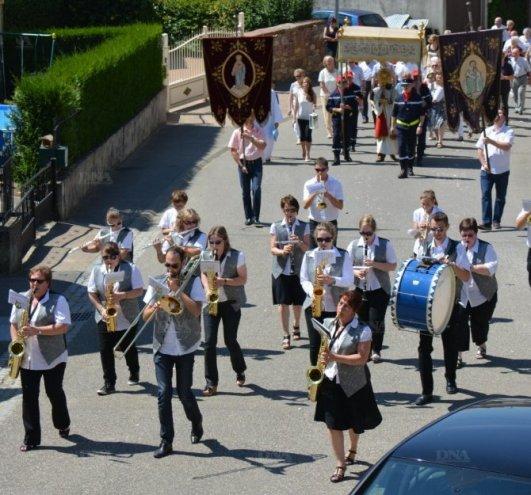 fête Dieu à Minversheim