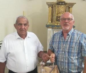 Changement de présidence à la chorale de Bossendorf