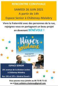 Hiver Solidaire : Rencontre conviviale @ Espace Sénior