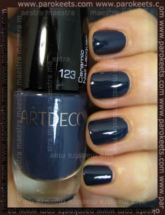 Swatch Artdeco Ceramic Nail Lacquer 123