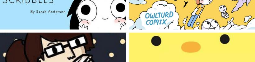 In caso di ansia, leggere fumetti: Sarah, Owlturd, Emm e Chibird