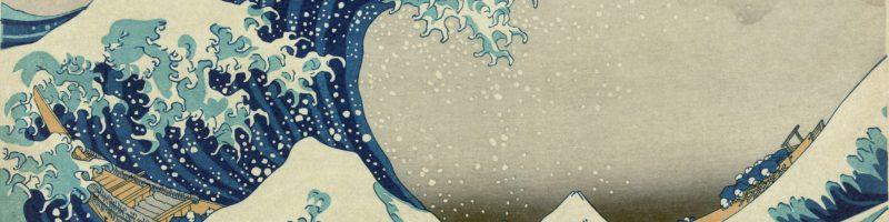 Navigando sulle onde di Hokusai