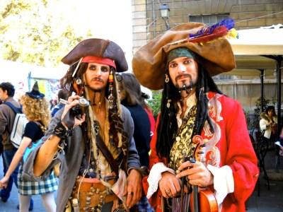 Lucca Comics - Jack Sparrow