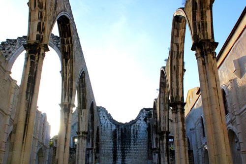 Lisbona in tre giorni - Carmo