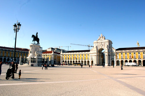 Lsbona in tre giorni - Praça do Comercio