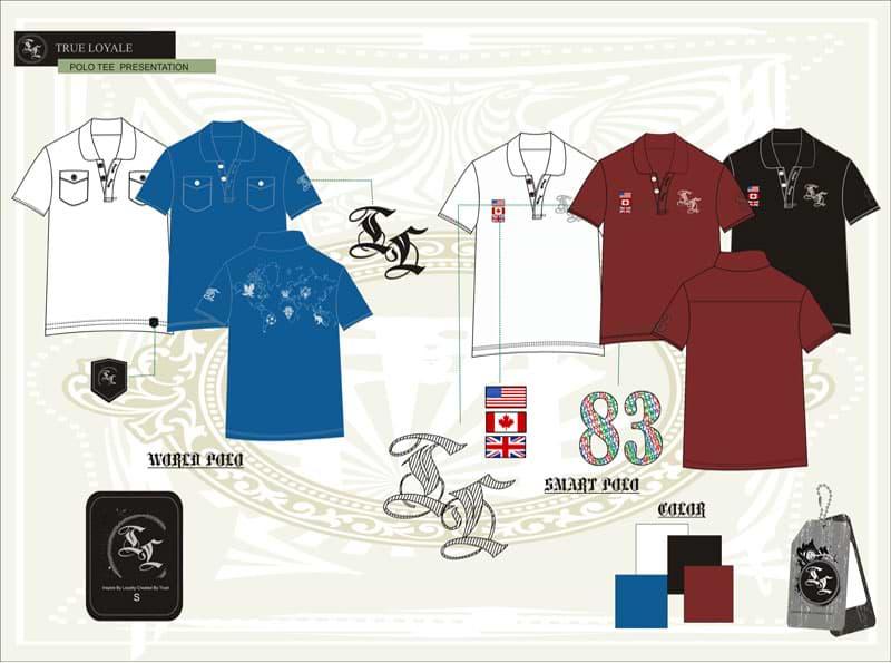 polo-t-shirt-tech-pack-designer, apparel producer