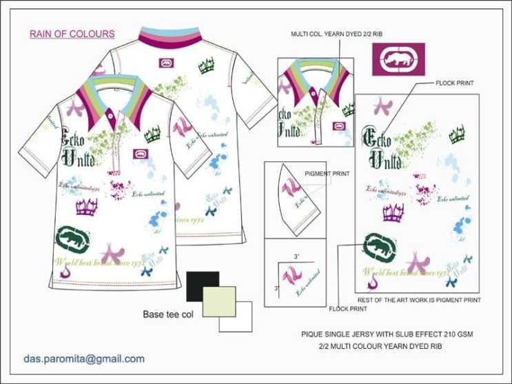 streetwear-designer Tech Pack Designs