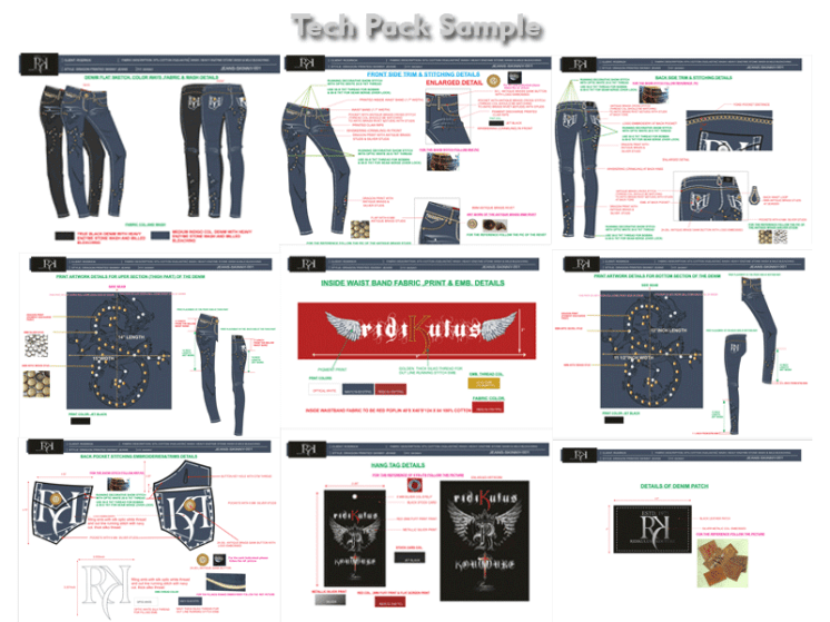 Apparel Production Tech Pack