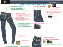 Stitching and Construction Details in Garment Manufacturing