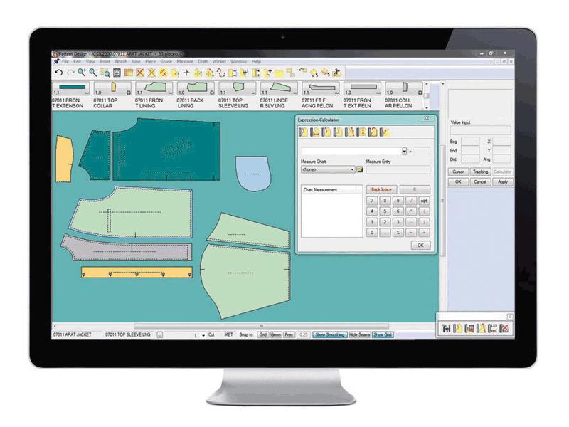 CAD Apparel Pattern