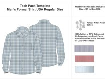 Tech Pack Template – Common Style Tech Packs Most Brand Use