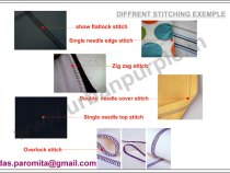 Stitching and Garment Construction Detailing