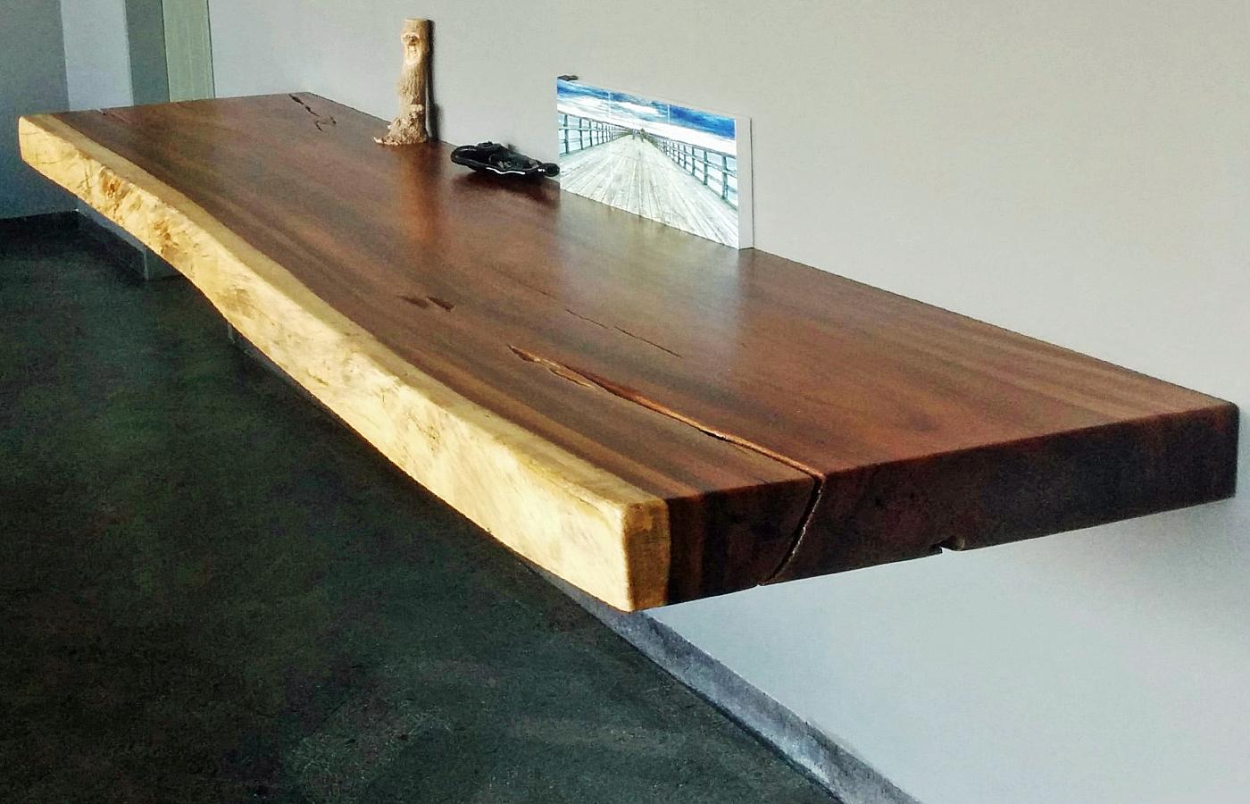 Parota Wood Console Amp Side Tables Custom Modern Design