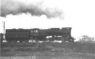 Ty51-137. Pyskowice – Czechowice 18.I.1990. Fot.: Andrzej Cichowicz ze zbiorów Jacka Chiżyńskiego