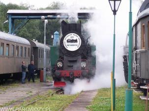 TKt48-191 z pociągiem Chabówka-Mszana Dolna 21.08.2004. Fot.: © Michał Smajdor.