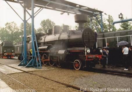Otwarcie Skansenu w Chabówce, na pierwszym planie Tr12-25. 11.VI.1993roku. Fot.: Ryszard Smulkowski.