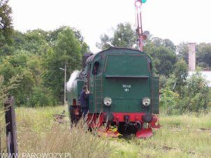 TKt48-191manewruje na stacji Mszana Dolna 21.08.2004. Fot.: © Michał Smajdor.