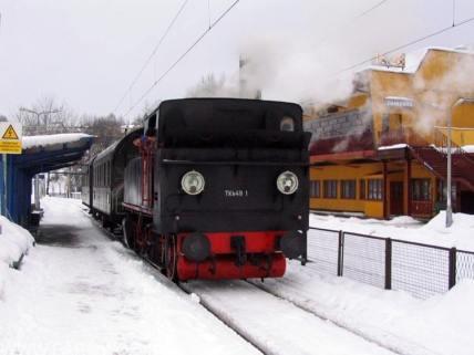 Pociąg na narty z TKh49-1. Fot.: Michał Legutko