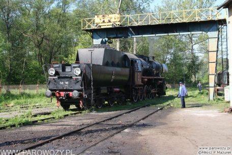 Ty2-911 przygotowywana do odjazdu. 28.05.2005. Fot.: Miłosz Mazurek.