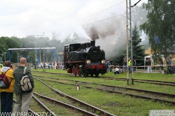 Pierwsza Parowozjada-23.VI.2005. Fot.: Miłosz Mazurek.
