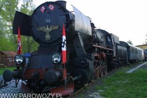 "Ty2-911 na planie filmu ""Aryjska para"" (tyt. org. ""The Aryan Couple""). Fot.: Remigiusz Kubiak"