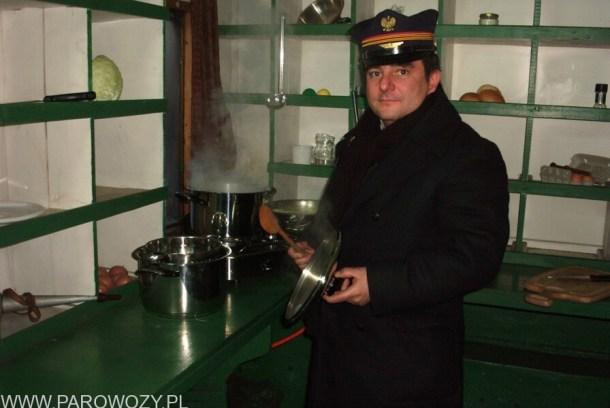 """Program TV """"Kolejowy smak"""" z cyklu """"Podróży kulinarnych Roberta Makłowicza"""". Fot.: Ryszarda Leszczyńska."""