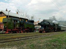 TKt48-191 z pociągiem nr 336091,Ty42-107 z 33300 Mszana Dolna 6.04.2014. Fot.: Łukasz Alczewski.