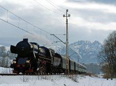Ty42-107 z 33056 Zakopane-Poronin 22.02.2015. Fot.: Łukasz Alczewski.
