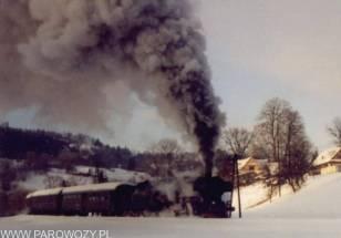 Ty2-911 na tle górskiego krajobrazu-kilka kilometrów dalej doszło do awarii...