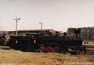 Pierwsze rozpalenie Tr12-25 po odbudowie. 23.04.1993. Fot.: Ryszard Smulkowski.
