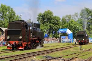 Prezentacja parowozów. Fot.: Miłosz Mazurek